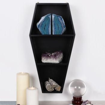 Coffin Shelf- Black