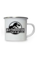 Motherhood Enamel Mug