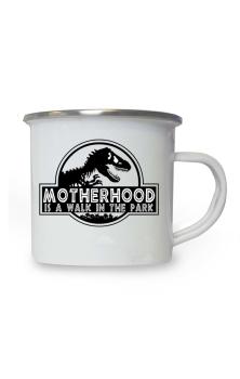 Motherhood Enamel Mug