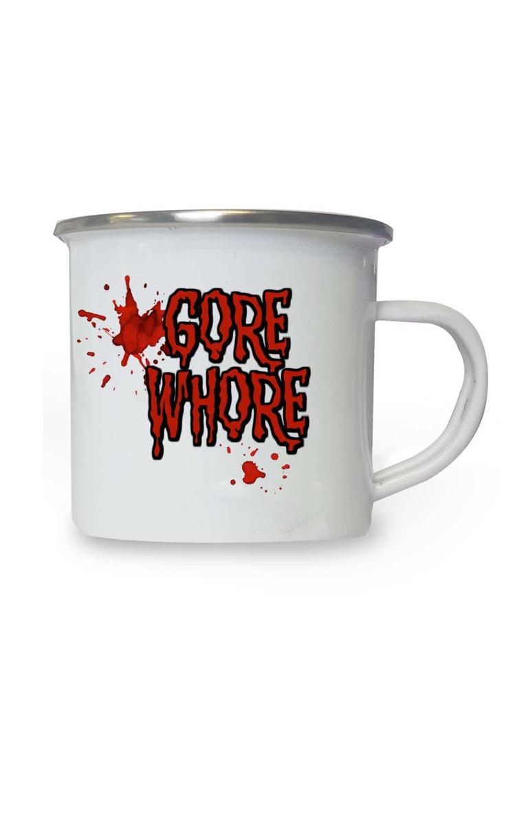 Gore Whore Enamel Mug