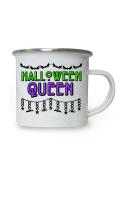 Halloween Queen Enamel Mug