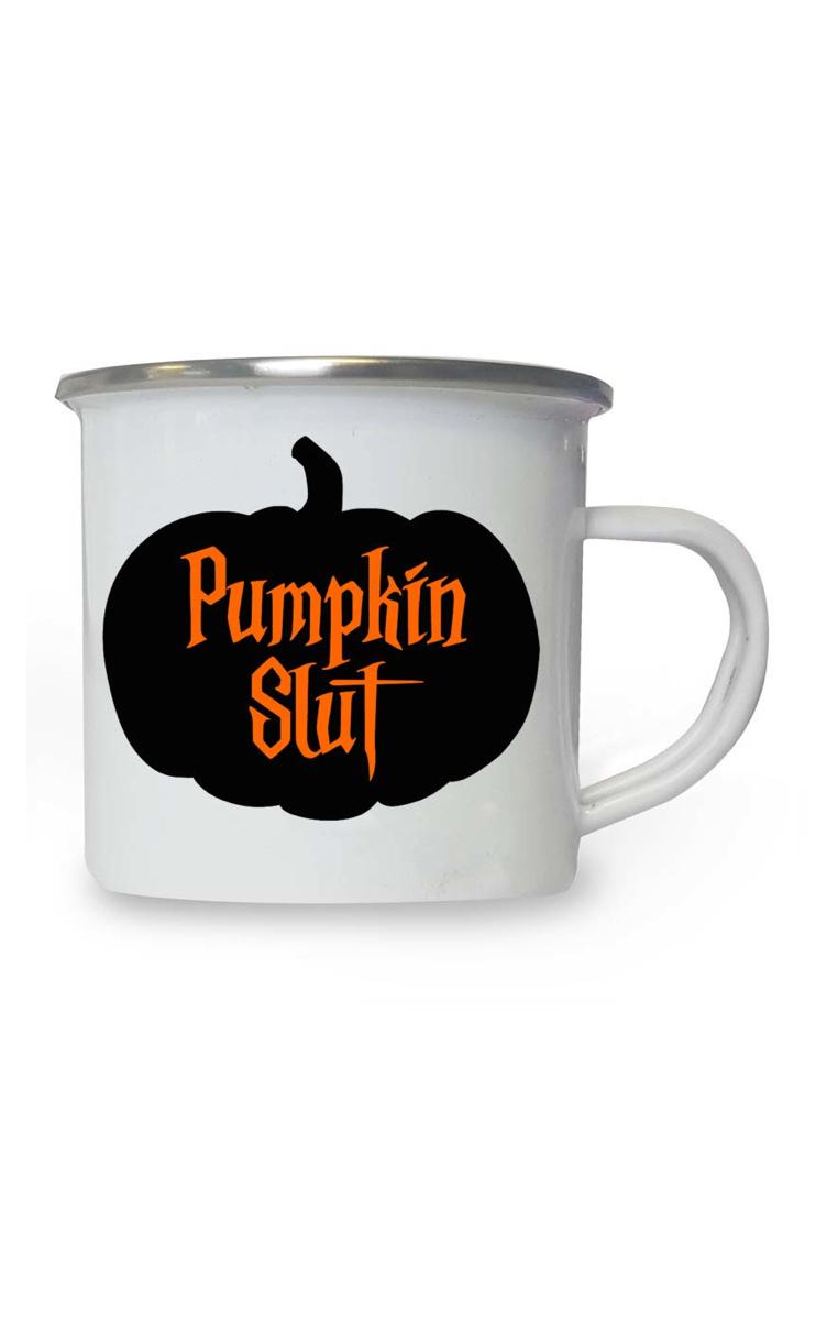 Pumpkin Slut Enamel Mug