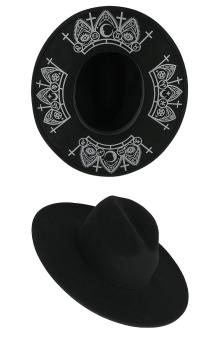 Fortune Teller Wide Brim Hat