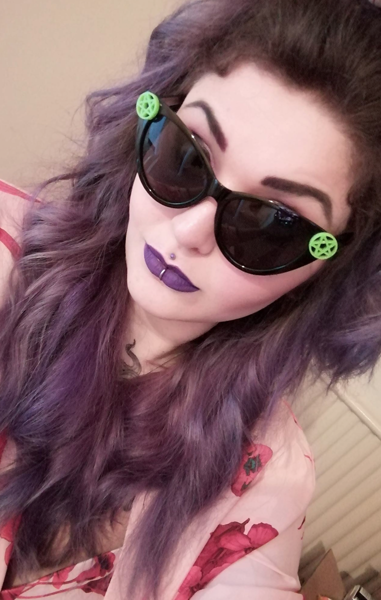 Pentacle Cat Eye Sunglasses