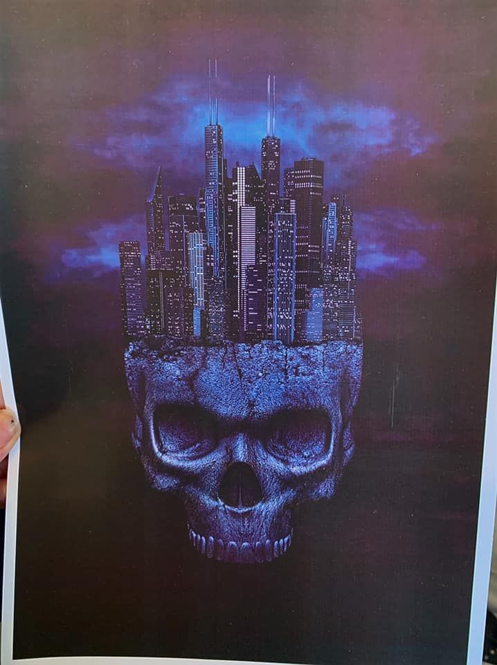 City of Death A4 Print RRP £4.99