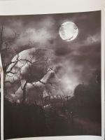 Grave Skull A4 Print