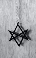 Hexagram Necklace