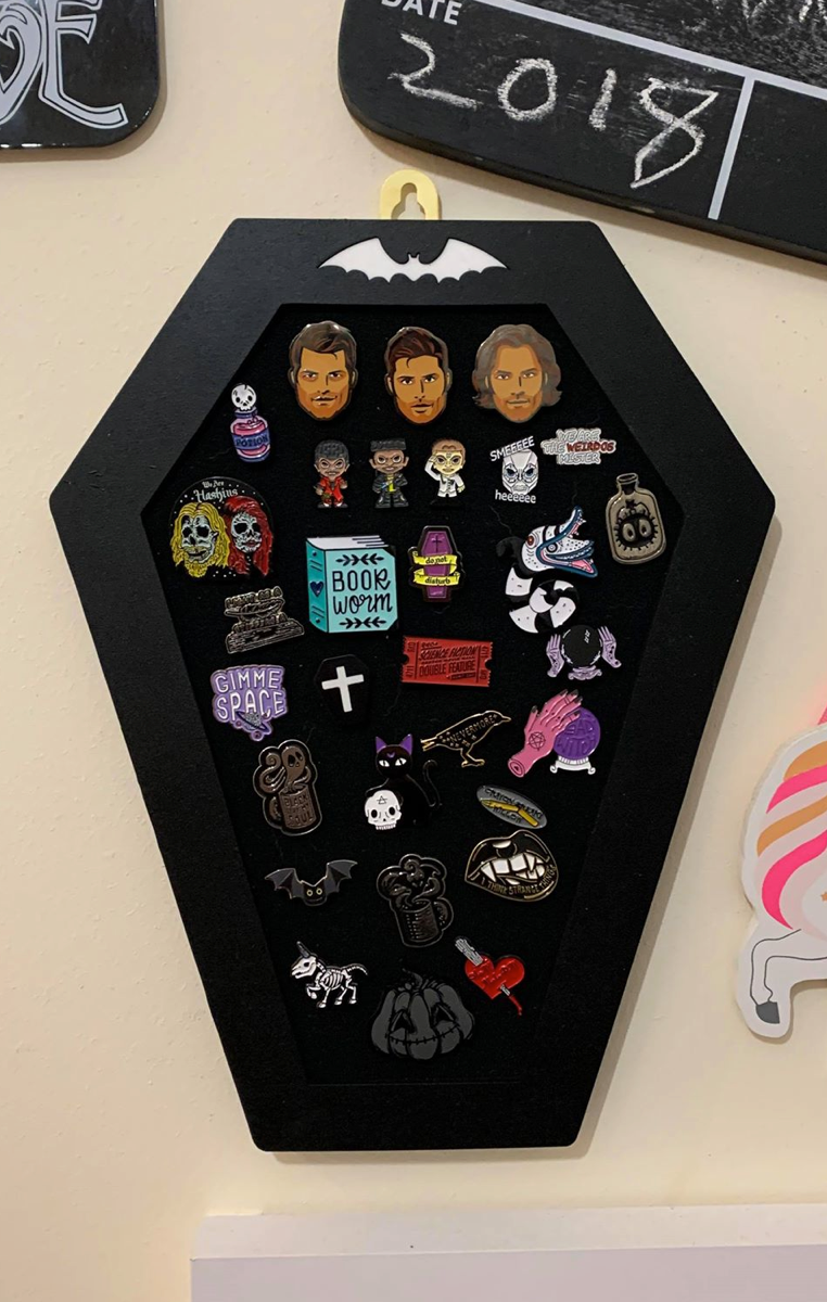 Coffin Pin Board