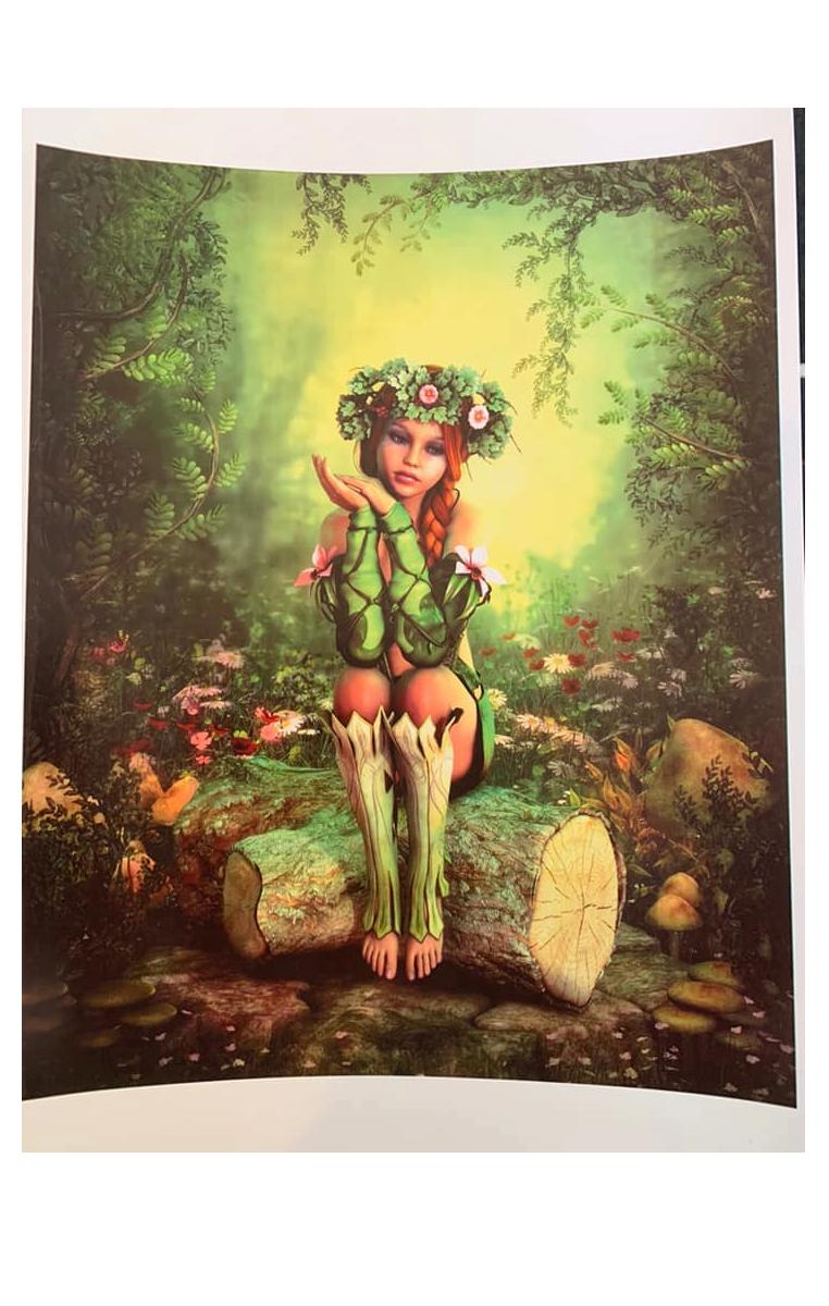 Woodland Fairy A4 Print RRP £4.99
