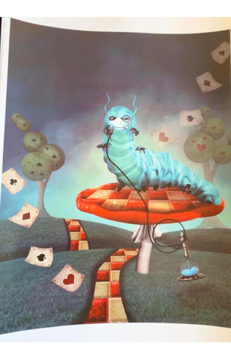 Caterpillar A4 Print RRP £4.99