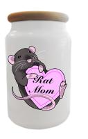 Rat Mom Treat/Cookie Jar