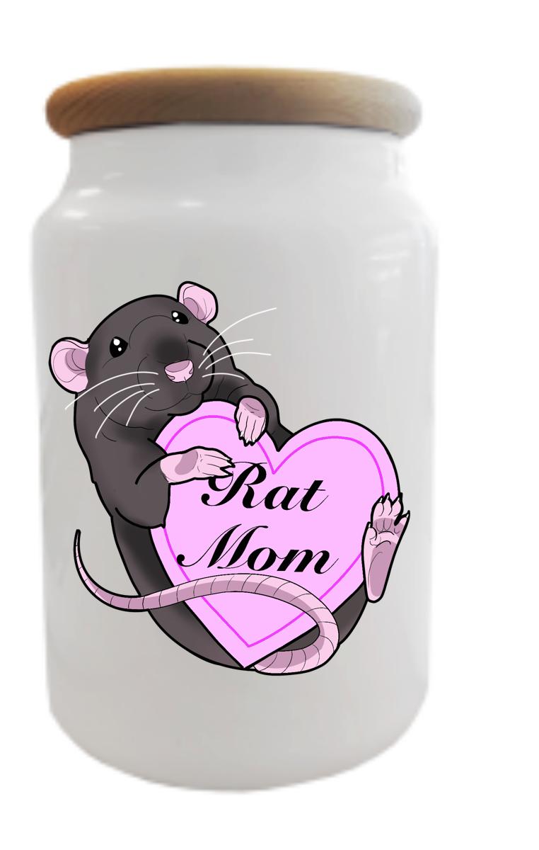 Rat Mom Treat/Cookie Jar RRP £12.99