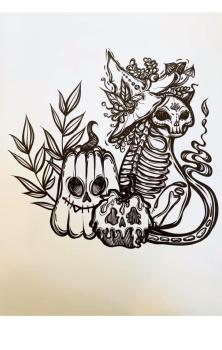 Halloween Gang A4 Print