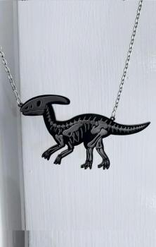 Parasaurolophus Necklace or Magnet