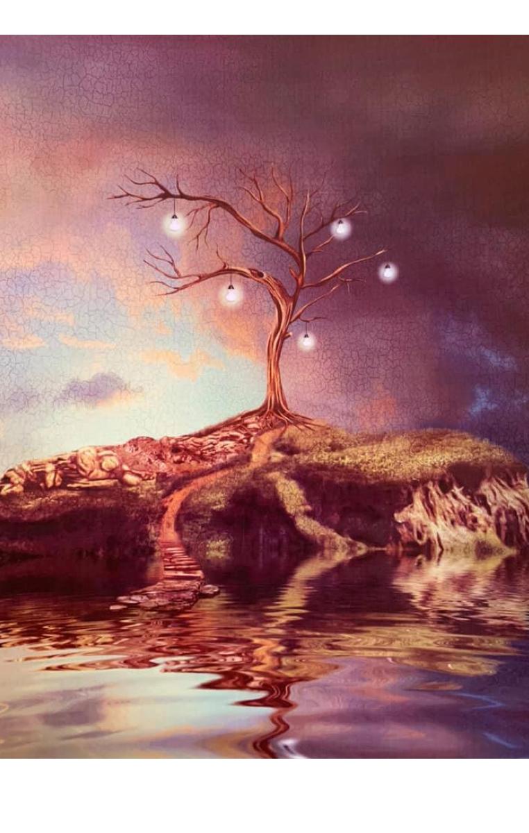 Dream Island A4 Print RRP £4.99