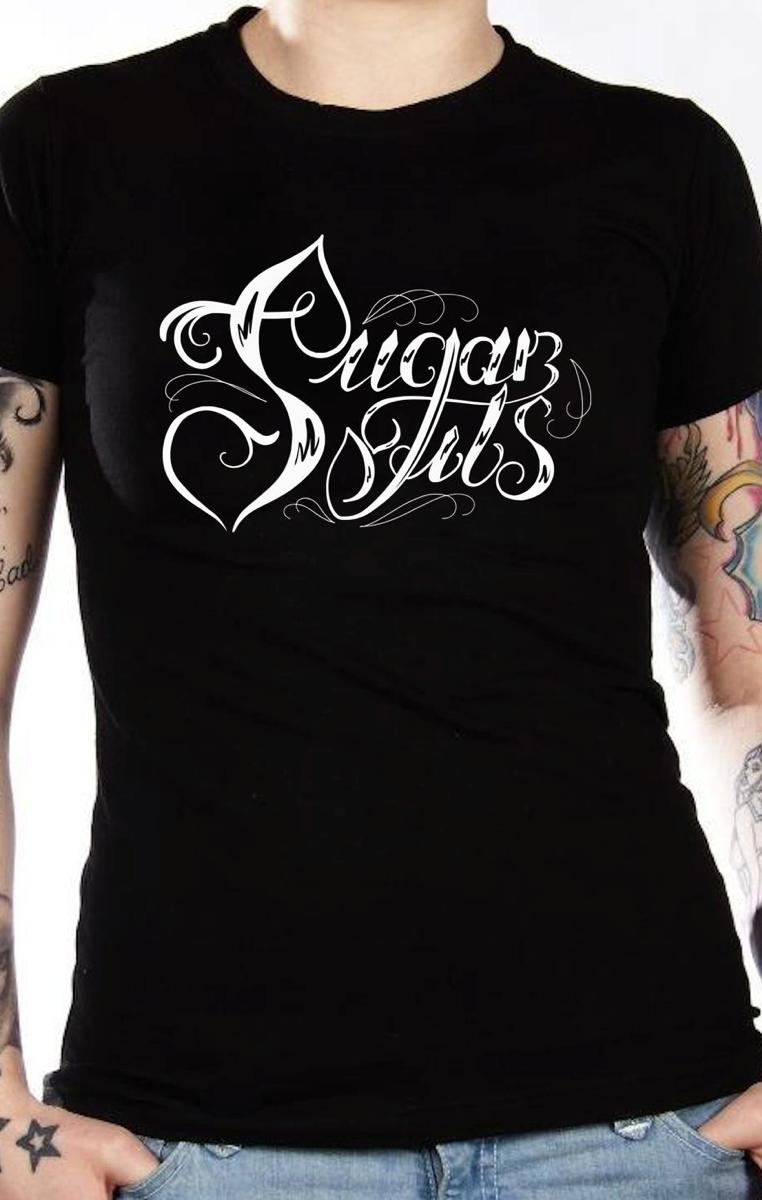Sugar Tits Swirl Tshirt RRP £19.99
