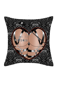 I Like It Rough Luxury Fur Cushion
