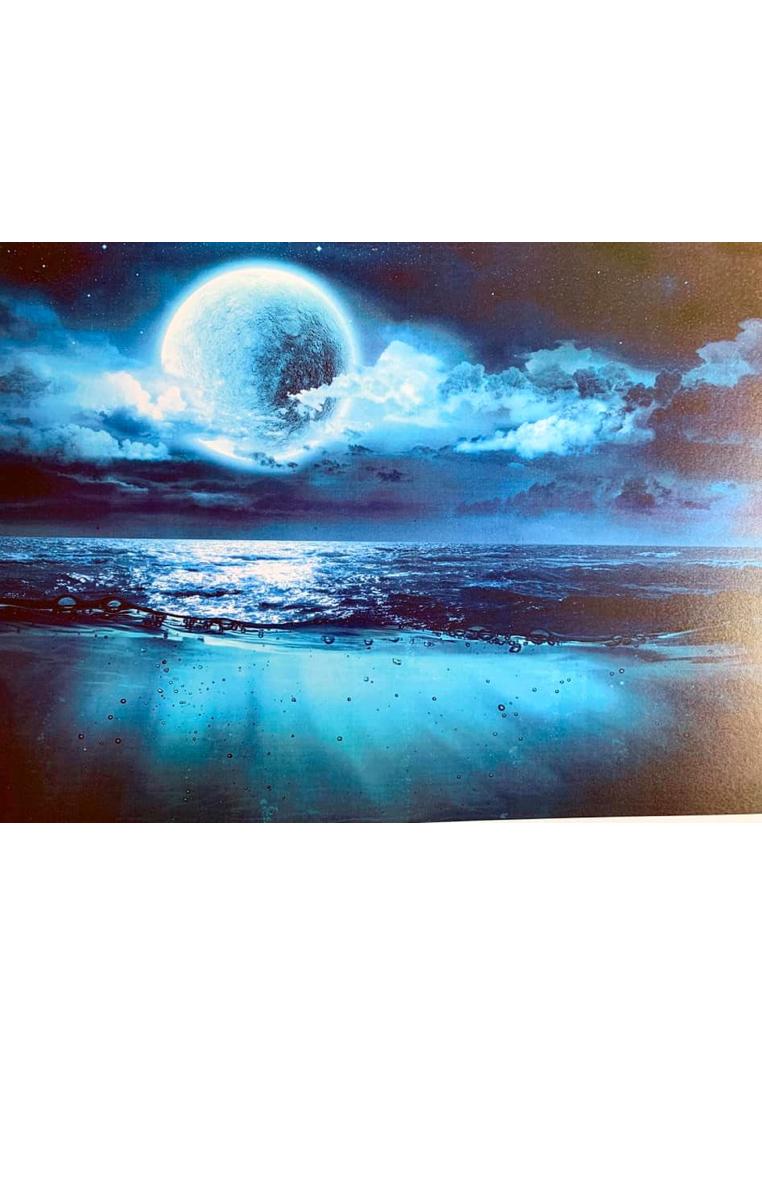 Blue Moon A4 Print RRP £4.99