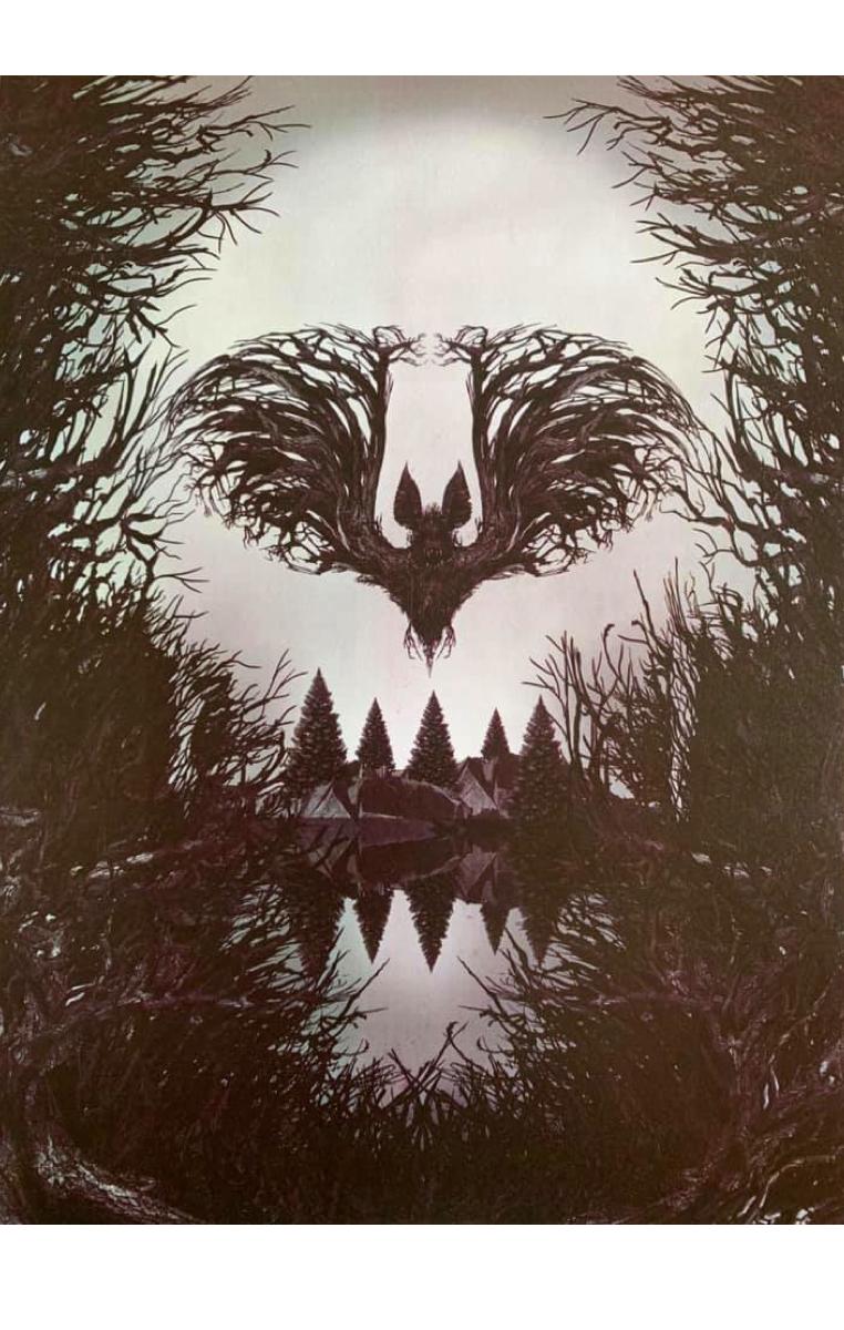 Bat Branches A4 Print RRP £4.99