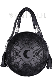 Henna Black Round Bag