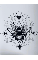 Bee A4 Print