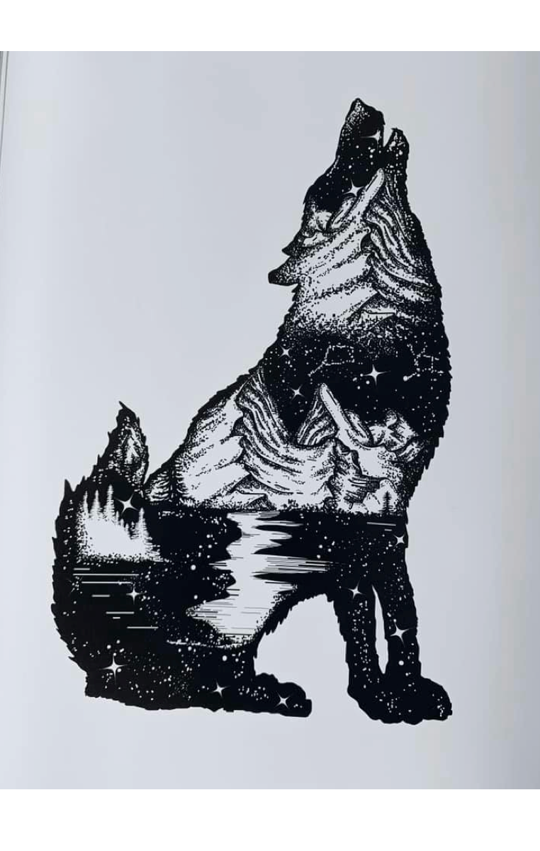 Howl A4 Print RRP £4.99