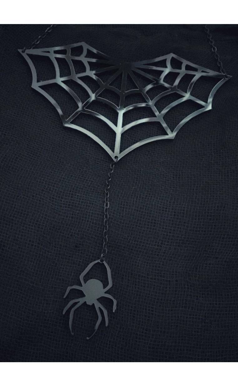 Web Necklace