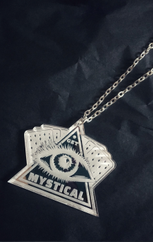 Get Mystical Mirror Necklace