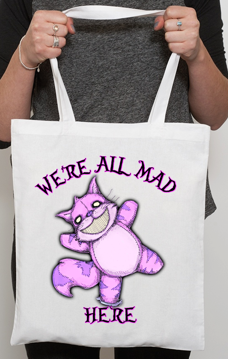 We're All Mad Tote Bag RRP £9.99