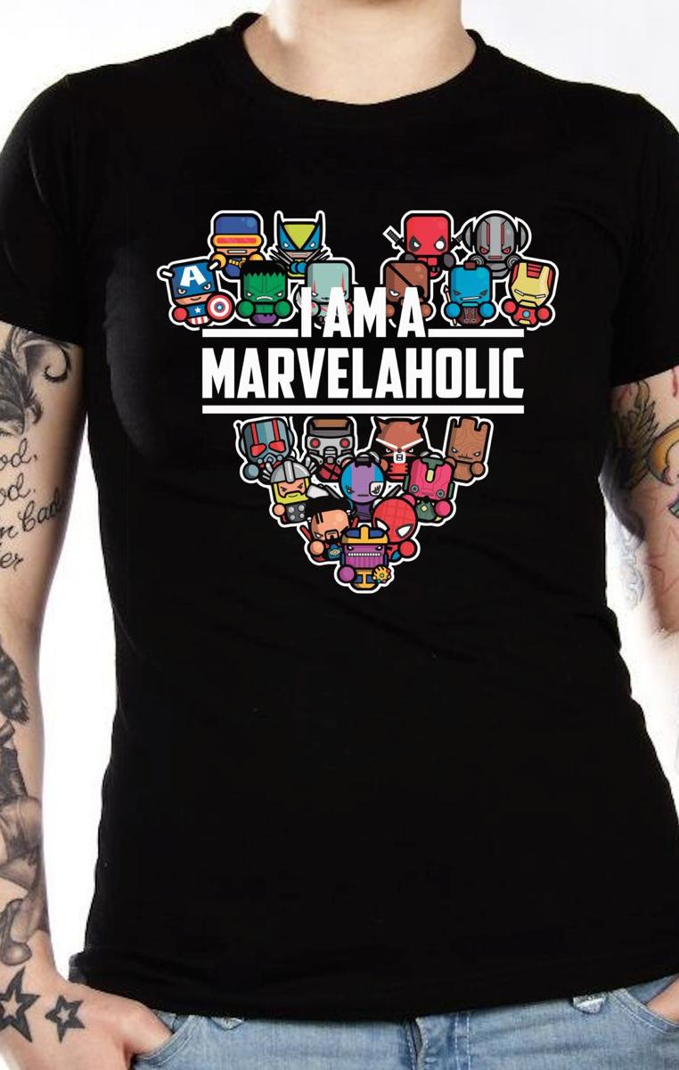 Marvelaholic Tshirt RRP £19.99