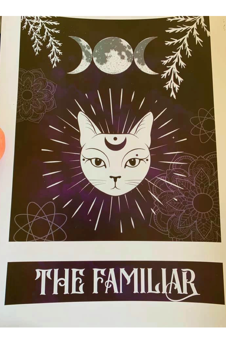 THE FAMILIAR A4 Print RRP £4.99
