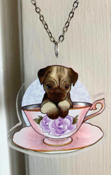 Pug Necklace RRP £6.99