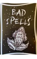 Bad Spells A4 Print