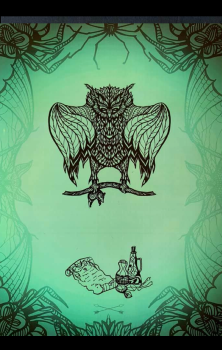 Witchcraft Owl A4 Print