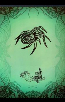 Witchcraft Spider A4 Print