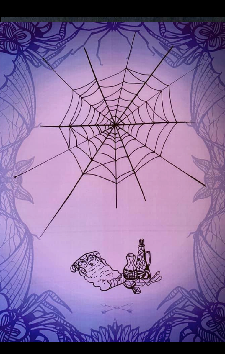 Witchcraft Web A4 Print RRP £4.99