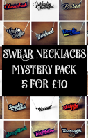 MYSTERY SWEAR NECKLACES - 5 FOR £10