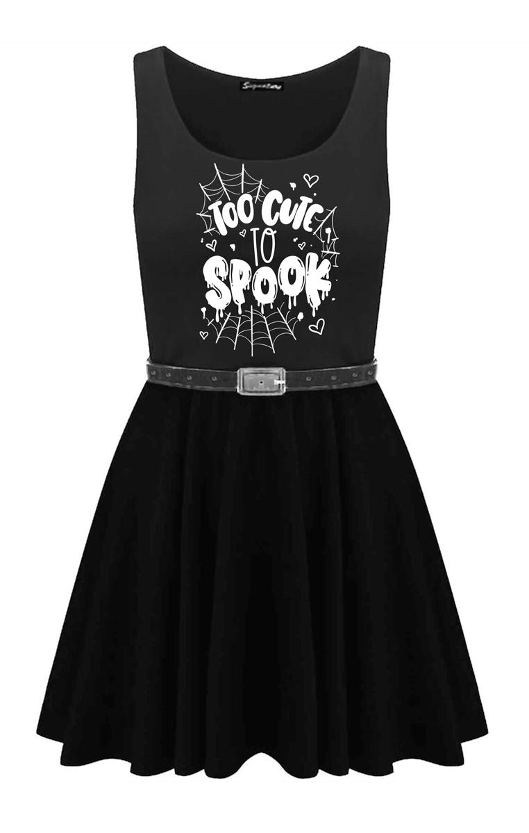 Too Cute To Spook Skater Dress