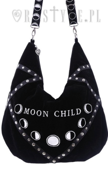 Moon Child Embroidered Bag