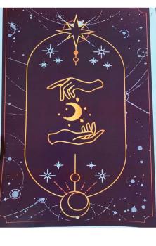 Tarot Print Moon A4 Print