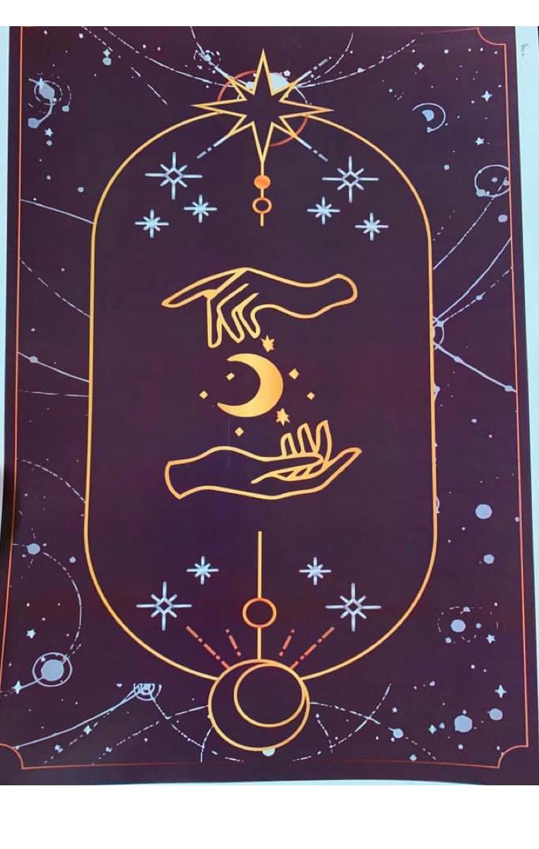 Tarot Print Moon A4 Print RRP £4.99