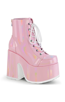 Camel 203 PINK Patent Boots - PREORDER AUGUST