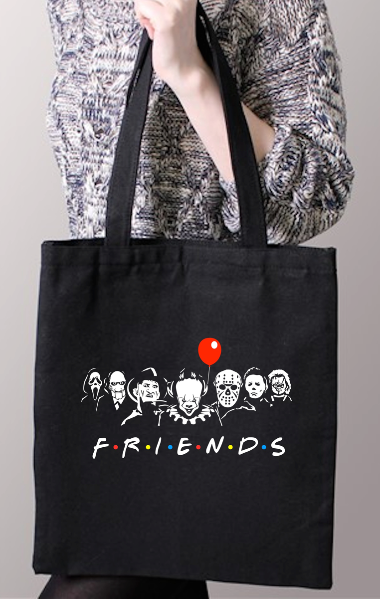 Horror Friends Tote Bag