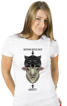 Bitch VS Anxiety Tshirt