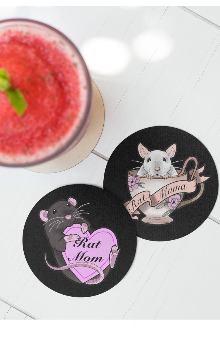 Rat Mama Coasters