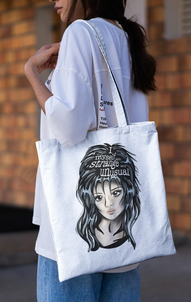 Lydia Icon Tote Bag - Black or White available RRP £9.99
