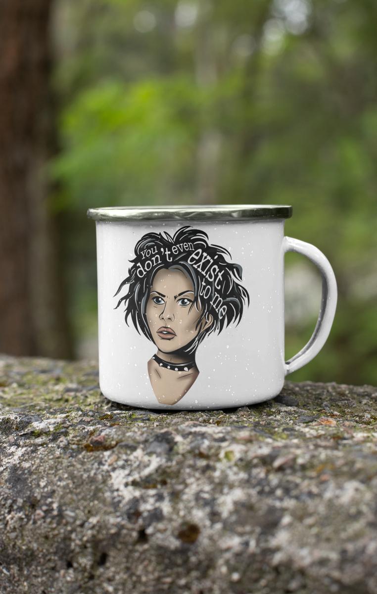 Nancy Icon Enamel Mug RRP £9.99