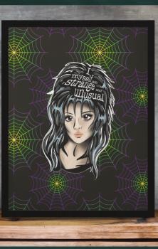 Lydia A4 Print