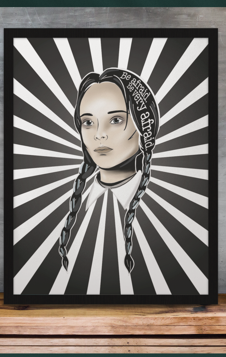 Wednesday A4 Print RRP £4.99-£9.99