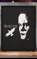 The Crow A4 Print